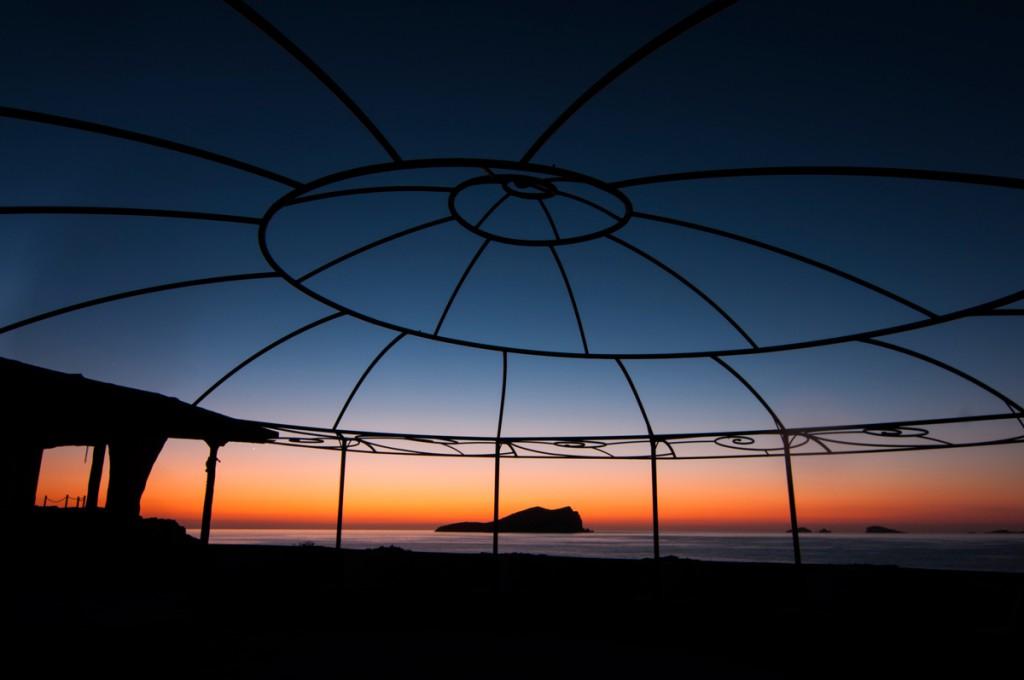 Atardecer en Cala Conta Ibiza