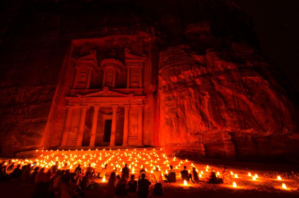 Antigua ciudad de Petra Jordania
